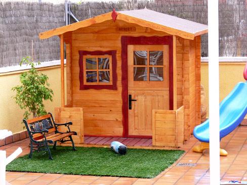 Casa de madera infantil imagui - Casa madera infantil ...